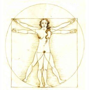 The Vitruvian Woman by Paola De Benedetti